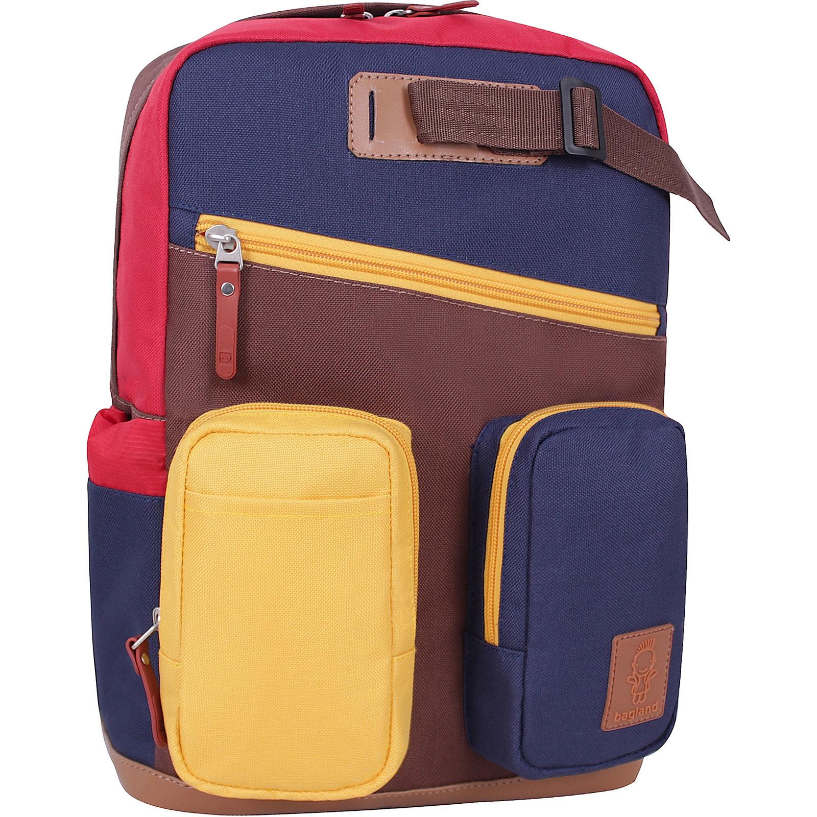 Городские рюкзаки Рюкзак Bagland Atlant 10 л. Коричневый (0052066) IMG_9154.JPG