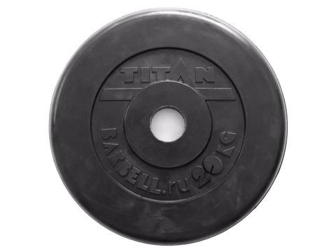 Диск для штанги стальной, цельнометаллический, обрезиненный. Диаметр внутренний 26 мм. Вес 20 кг.