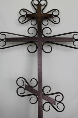 Крест металлический К-09