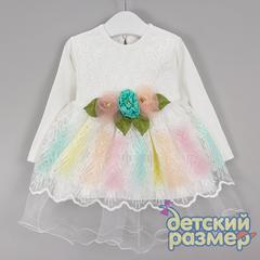 Платье (гипюр, блестки)