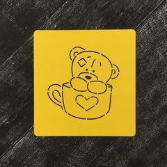 Мишка Тедди №20 в кружке
