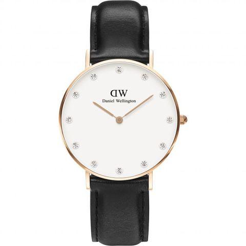 Купить Женские часы Daniel Wellington Classy 34 мм DW00100076 по доступной цене