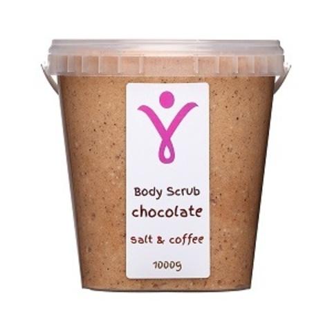Шоколадно-кофейный пилинг для тела, 1000 г