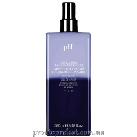 pH Laboratories Flower Ice Blonde Leave-In Detangler — Спрей-кондиціонер незмивний