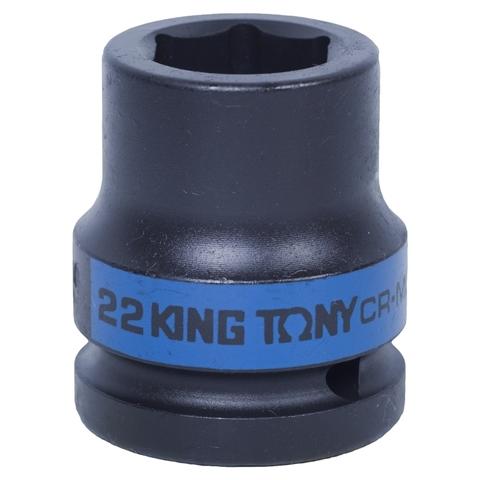 KING TONY (653522M) Головка торцевая ударная шестигранная 3/4