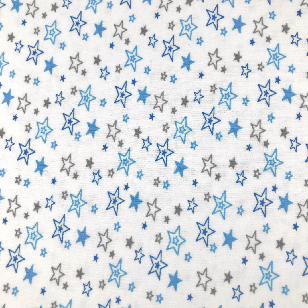 PREMIUM звездопад - Детская простыня на резинке 70х180