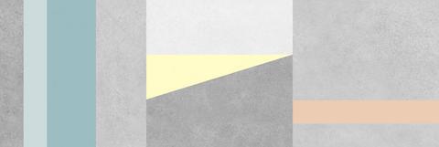 Плитка настенная CEMENT серый узор 250х750