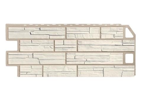 Фасадная панель Сланец - Мелованный Белый