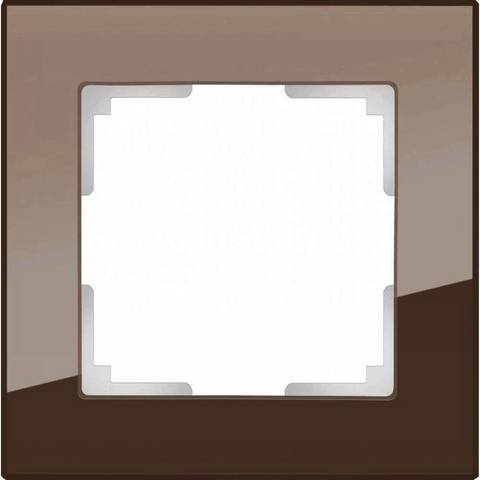 Werkel Рамка W0011118 (WL01-Frame-01) мокко стекло