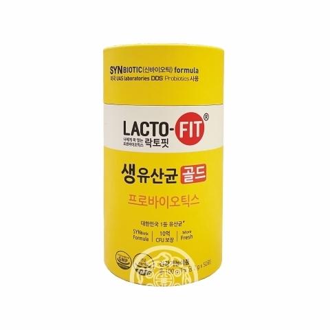 Биологически активная добавка к пище Лакто-Фит Голд/Lacto-Fit Gold 2г*50шт Корея