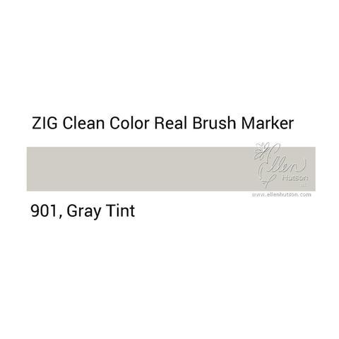 Маркер акварельный ZIG Clean Color Real Brush- штучно - 901