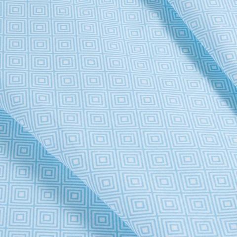 Бязь плательная 150 см 1753/2 цвет голубой