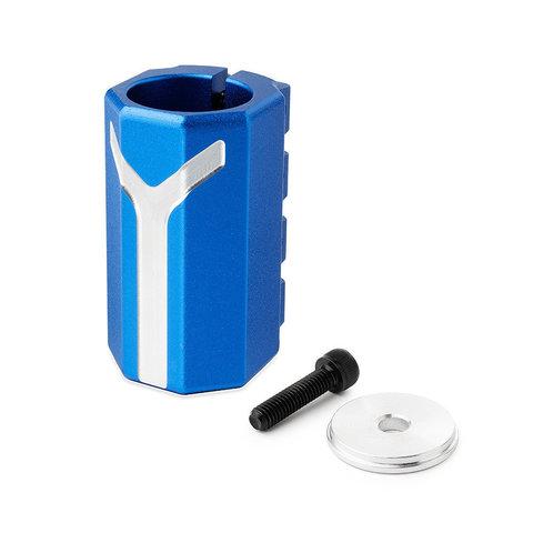 Зажим (хомут) Фокс про синий