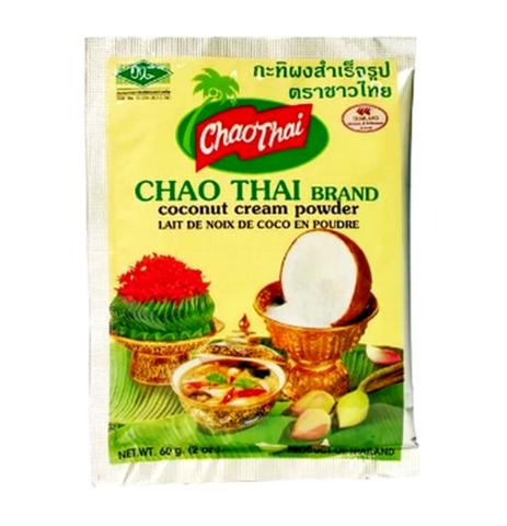 Сухие кокосовые сливки Chao Thai Coconut Cream Powder, 60 гр