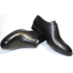 Туфли под черный костюм Ikos 006-1 Black
