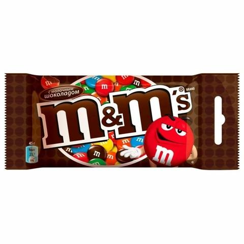 Драже M&M Шоколад 45 гр