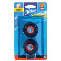 Таблетки для сливного бачка Chirton Морской 50 г 2 штуки в упаковке