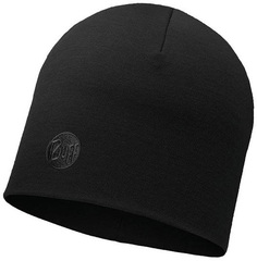 Теплая шерстяная шапка Buff Solid Black