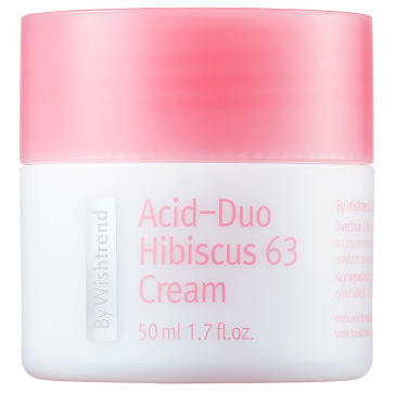 By Wishtrend Acid-Duo Hibiscus 63 Cream антиоксидантный крем 50мл