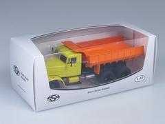 KRAZ-256B Tipper yellow-orange 1:43 Start Scale Models (SSM)