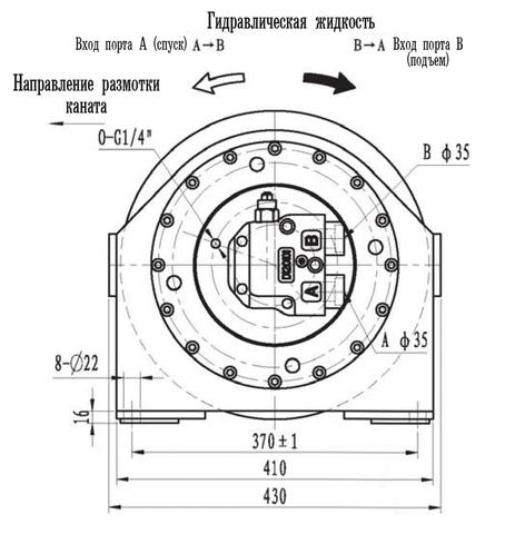 Эвакуационная лебедка IYJ3-20-66-14-ZPN