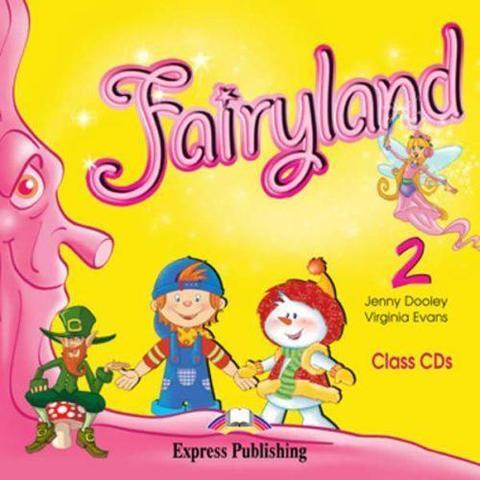 Fairyland 2. Class Audio CDs. (set of 2). Beginner. Аудио CD для работы в классе