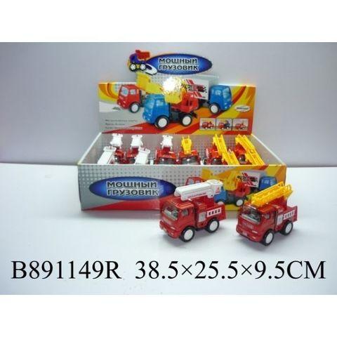 Машина мет. В891149R пожарная (СБ) дисплей