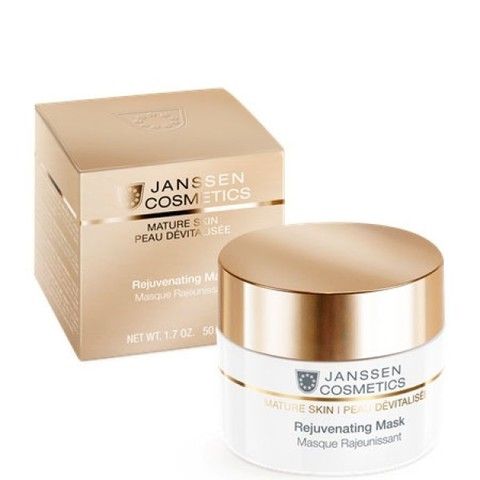 Омолаживающая крем-маска Rejuvenating Mask, Mature Skin, Janssen Cosmetics, 50 мл