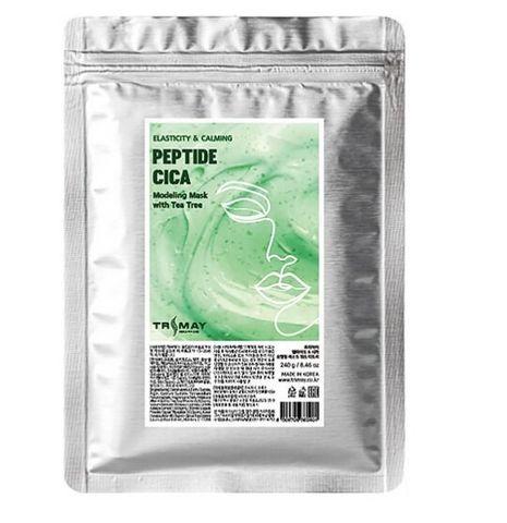 Альгинатная моделирующая маска с центеллой, пептидами и чайным деревом Trimay Modeling Mask Peptide & Cica Modeling Mask With Tea Tree