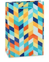 Пакет подарочный Затейливый узор 14х20х6.5 см,1 шт.