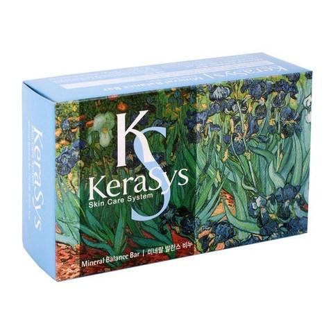 KeraSys Мыло с ароматом грейпфрута и зеленых оливок Mineral Balance 100 г.