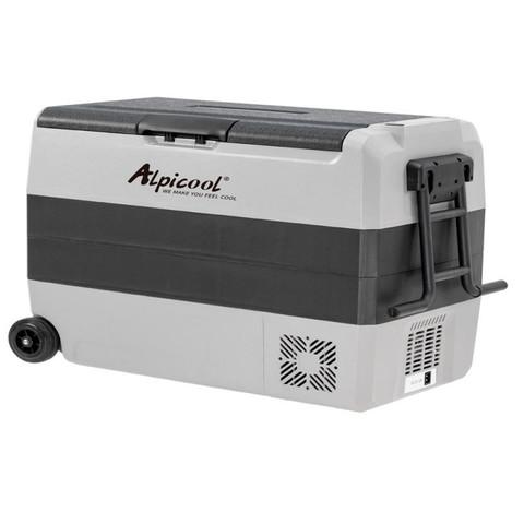 Компрессорный автохолодильник Alpicool ET60 (Двухкамерный, 12V/24V/220V, 60л)