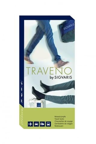 Гольфы для путешествий Sigvaris Traveno, закрытый мысок