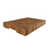 Доска торцевая разделочная, дуб черешчатый 35 х 25 х 4 см, артикул TD03005, производитель - Origins Wood