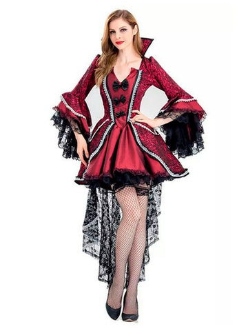 Платье стильной Вампирши