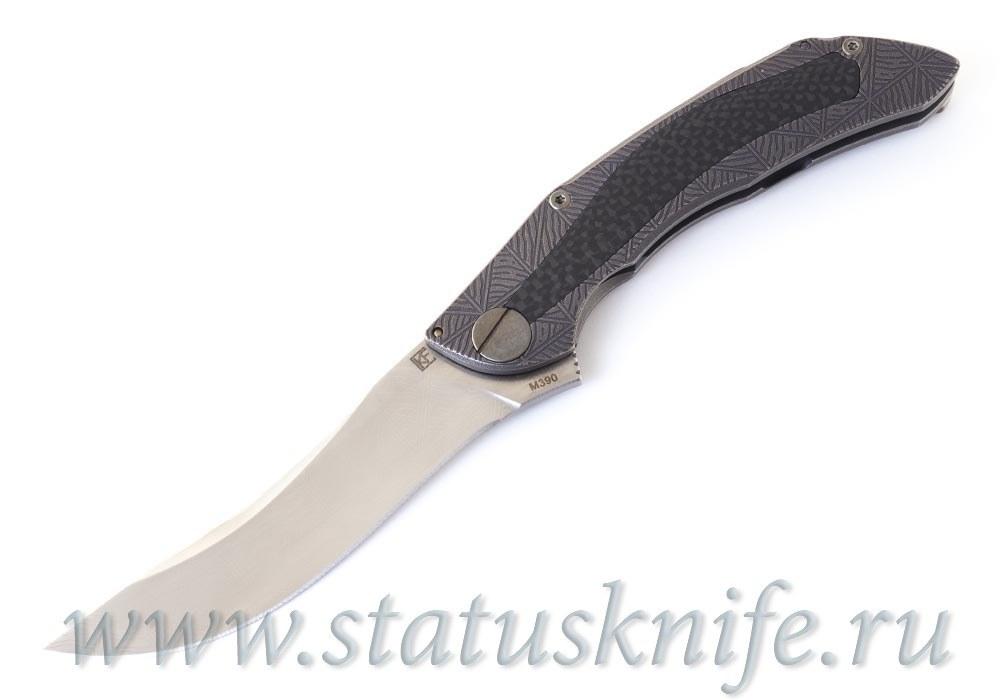 Нож CKF CUSTOM САБЛЯ Alexey Konygin One-Off - фотография