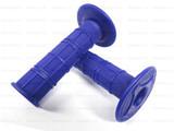 Мото грипсы FAST PRO, мягкие ручки руля, синие
