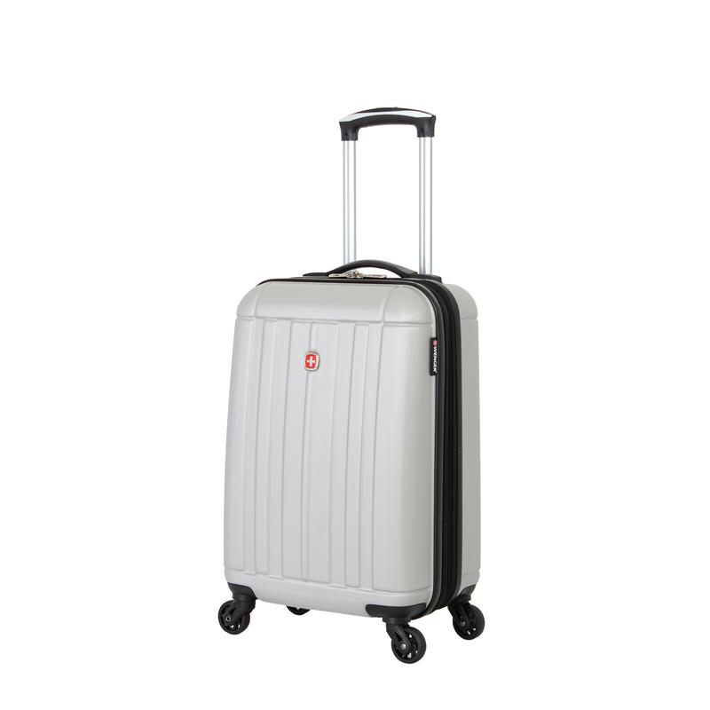 Чемодан WENGER USTER, цвет серебристый 34x22x55 см, 37 л (WGR6297404154).