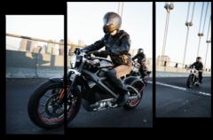 "Модульная картина ""Harley Davidson электромотоцикл"""