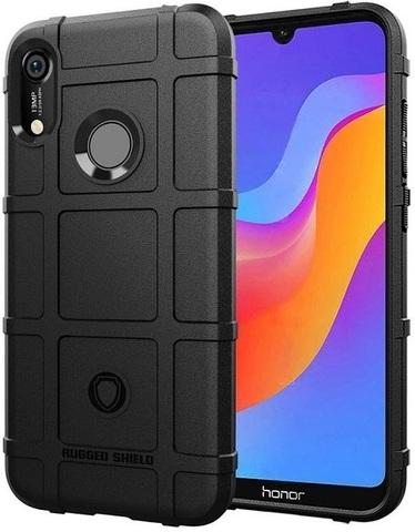 Чехол для Huawei Y6 2019 (Honor 8A Pro) цвет Black (черный), серия Armor от Caseport