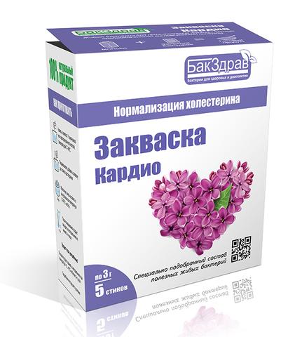 Пробиотик закваска Кардио  5х3г