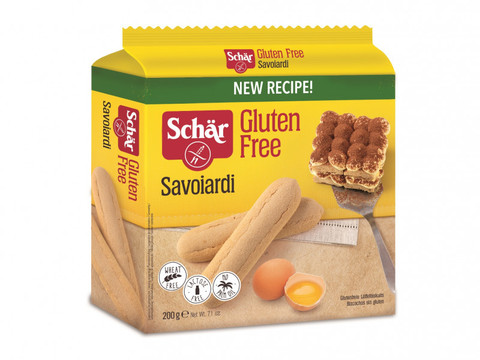 Печенье (Savoiardi) бисквитное б/глютена Schar 200г