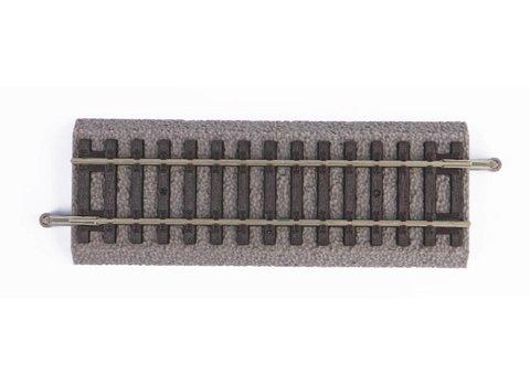 Рельсы прямые G115 на подложке, уп. 6 шт.