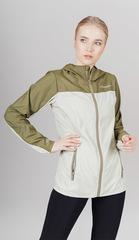 Ветро и водозащитная куртка с капюшоном Nordski Rain Light Green-Olive женская