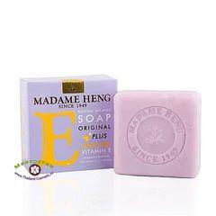 Мыло натуральное с витамином Е и экстрактом косточки винограда, Madame Heng