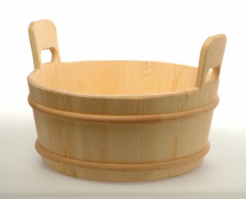 Ушат 17 литров, сосна Saunaset