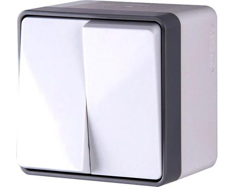 Werkel Выключатель W5020201 (WL15-03-02) IP44 белый (2 кл. IP44)