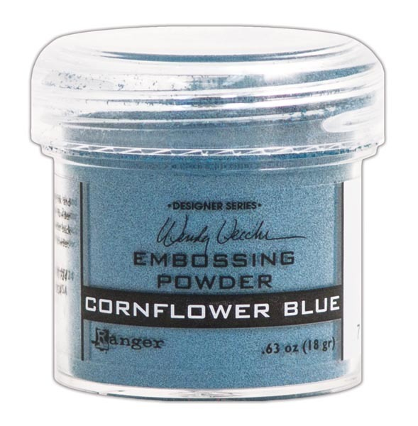 Пудра для эмбоссинга Ranger Ink- Cornflower Blue