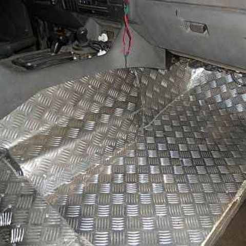 Обшивка алюминиевым листом Соболь