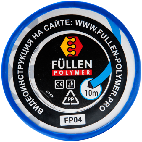 FP PP 10M синий треугольный 3*5 мм (цена за 1м)